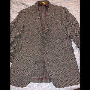 Hickey Freeman Weightless Zegna Check Sportcoat
